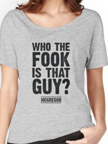 Who the Fook is that Guy? Women's Relaxed Fit T-Shirt