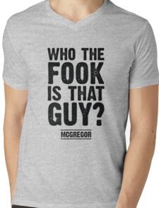 Who the Fook is that Guy? Mens V-Neck T-Shirt