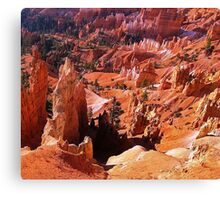 Most beautiful place on Earth Canvas Print