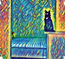 The Cats of Impressionism Sticker