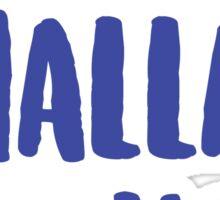 Happy Challah Days Sticker