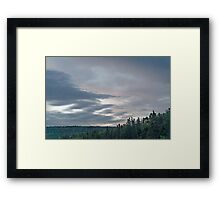 Dusk at Cape Breton Island Framed Print