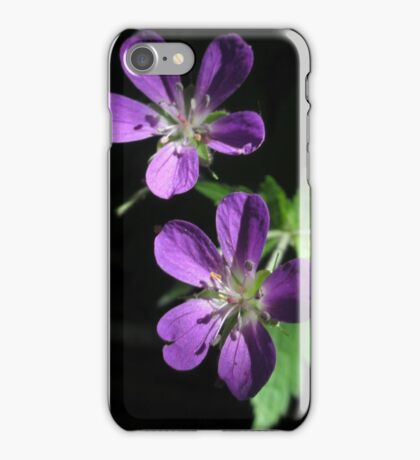 Purple Highlights iPhone Case/Skin