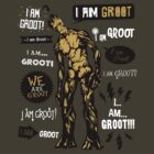 Groot Famous Quotes by Olipop