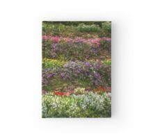 Painted flowers Hardcover Journal