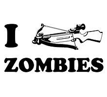 I Crossbow Zombies Photographic Print