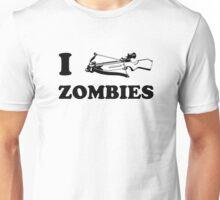 I Crossbow Zombies Unisex T-Shirt