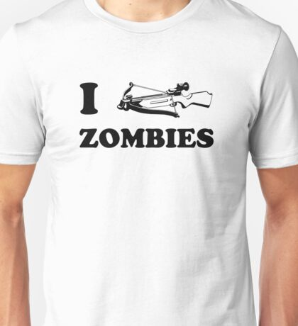 I Crossbow Zombies Unisex T-Shirt