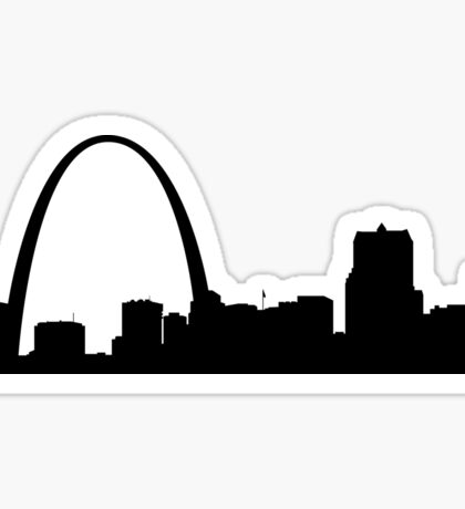 St. Louis skyline Sticker