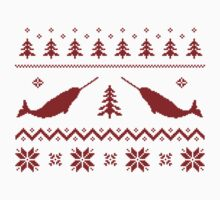 Ugly Narwhal Christmas Sweater by TheShirtYurt