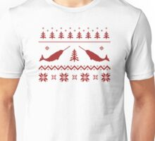 Ugly Narwhal Christmas Sweater Unisex T-Shirt