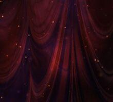 Cosmic Curtain Sticker