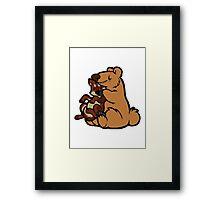 Bearhugs Framed Print