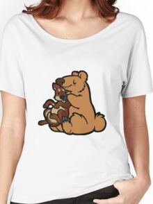 Bearhugs Women's Relaxed Fit T-Shirt