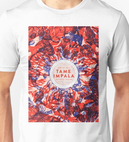 TAME IMPALA TOURS 16 Unisex T-Shirt
