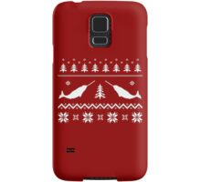 Ugly Narwhal Christmas Sweater Samsung Galaxy Case/Skin