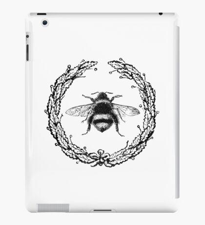 Vintage Bee iPad Case/Skin