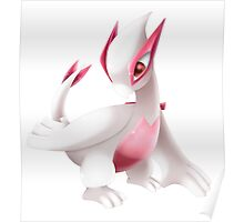 Shiny Lugia Pokemon Poster