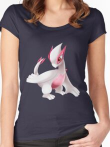 Shiny Lugia Pokemon Women's Fitted Scoop T-Shirt