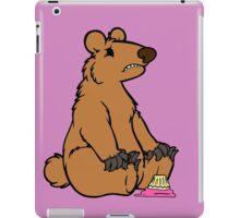 Sad Bear is sad iPad Case/Skin
