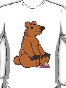 Sad Bear is sad T-Shirt
