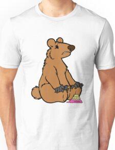 Sad Bear is sad Unisex T-Shirt