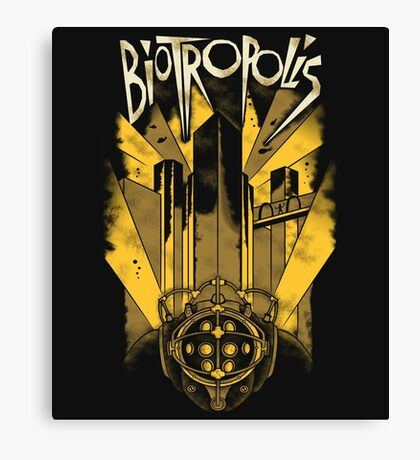 Biotropolis Canvas Print