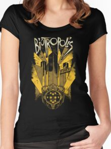 Biotropolis Women's Fitted Scoop T-Shirt