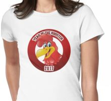 Year of The Rooster 2017 Womens Fitted T-Shirt