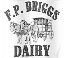 Vintage Dairy Art Poster
