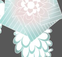 Winter flower Sticker
