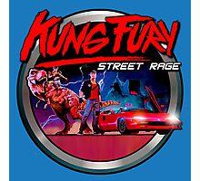 kung fury Photographic Print
