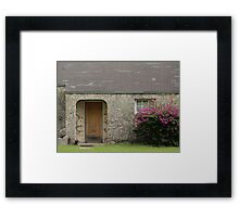 Stone House Framed Print