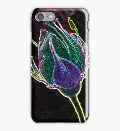 """""""Electric Rosebud"""" iPhone Case/Skin"""