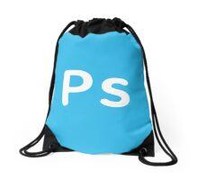 Adobe Photoshop CC Square Drawstring Bag