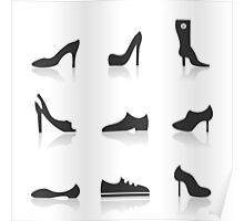 Icon footwear Poster