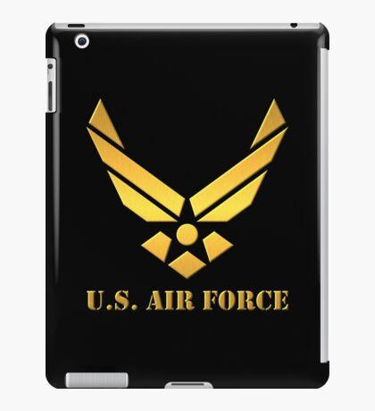 Golden U.S Air Force iPad Case/Skin