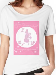 Once Upon a Dream (Make it Pink!) Women's Relaxed Fit T-Shirt