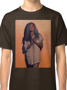 Kim Basinger Painting Classic T-Shirt