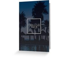 Fabulous and Us: Holiday Greeting Card