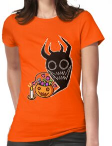 A Pumpkin and his Shadow Womens Fitted T-Shirt