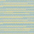 Winter Pattern Blue-Gray & Green by artonwear