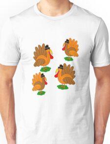 Thanksgiving turkey   Unisex T-Shirt
