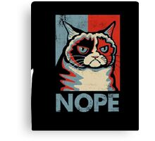 Grumpy Cat Nope Men's T-Shirt Canvas Print