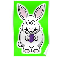 Rabbit, Cartoon, Easter Bunny Poster