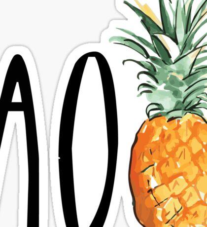 AOpineapple Sticker