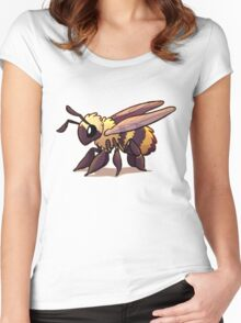 Cute Bee Women's Fitted Scoop T-Shirt