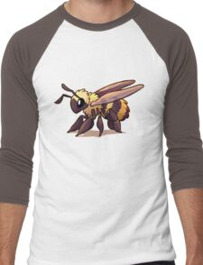 Cute Bee Men's Baseball ¾ T-Shirt