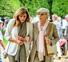 HRH Princess Michael of Kent goes walkabout at the Concours of Elegance by MarcW