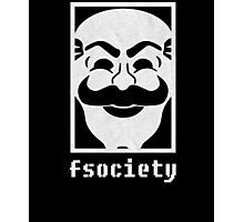 Mr Robot fsociety Mens Graphic Photographic Print